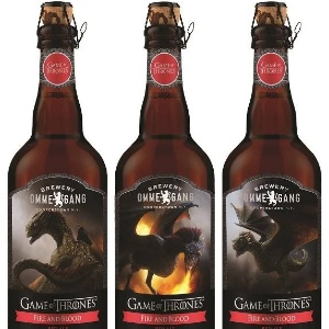 """Cerveja """"Fire and Blood"""" homenageia personagens da série """"Game of Thrones"""" (HBO)"""